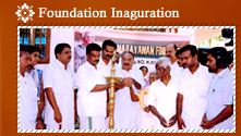 Foundation Inaguration